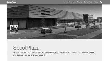 Social media site scootplaza